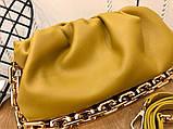 Сумка, клатч від Боттега натуральна шкіра, фото 7