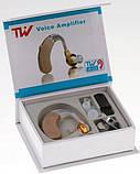 Слуховой аппарат TW A-33/ Заушный слуховой аппарат + батарейки в подарок, фото 2