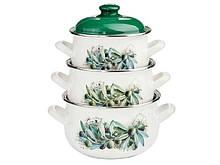 Наборы эмалированной посуды Interos