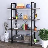 Стелаж для книг офісний Сингл-4 Loft Design, фото 3
