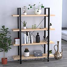 Стелаж для книг офісний Сингл-4 Loft Design
