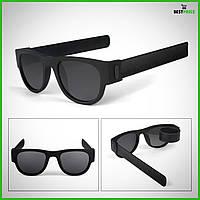 """Поляризованные солнцезащитные  складные гибкие  браслет - очки Original. """"Clix Out-Clix On!"""" UV400"""