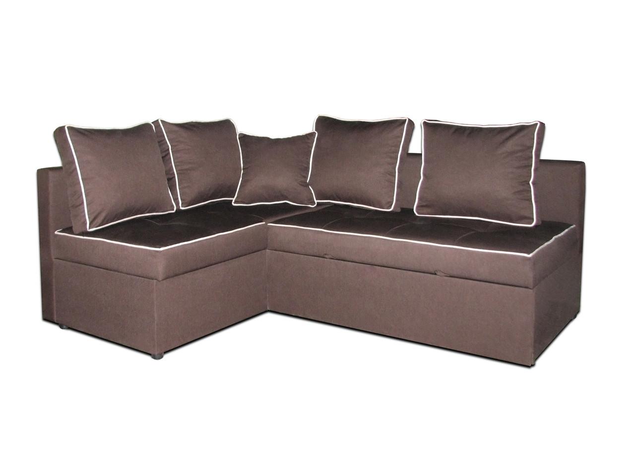 Угловой диван на пружинном блоке Премиум