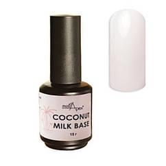 Молочная камуфлирующая база Coconut milk base от Nail Apex,15 ml