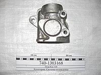 Патрубок выключателя гидромуфты КамАЗ (Россия) 740.1303168