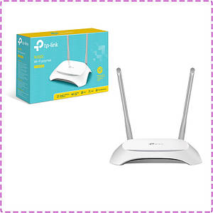 Wi-Fi роутер TP-LINK TL-WR840N, вай фай маршрутизатор тп лінк, тп лінк 840