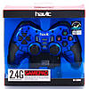 Беспроводной джойстик для ПК Havit HV-G89W (23127) Blue, для PC/PS2/PS3, беспроводный геймпад, фото 3
