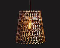 Люстра деревянная СОНЦЕ by smartwood | Люстра лофт | Дизайнерский потолочный светильник, фото 1