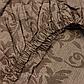"""Простыня на резинке из бязи голд """"Темный узор"""", фото 2"""