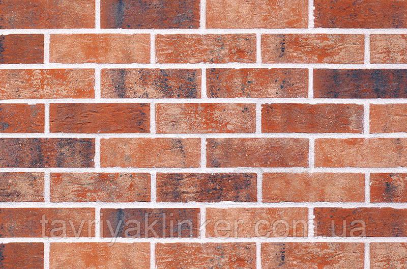 Клинкерная фасадная плитка Brick street (HF05), 240x71x10 мм
