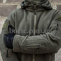 """Толстовка тактическая """"ULTIMATUM"""" OLIVE // РАЗМЕРЫ S / L / XL, фото 2"""