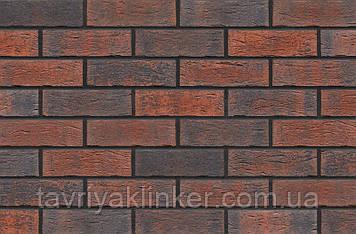 Клинкерная фасадная плитка Bengali night (HF06), 240x71x10 мм