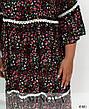 Платье женское летнее натуральное в пол размеры: 52-56, фото 6