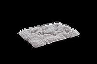 "Подушка-лежак для кошек и собак Мур-Мяу ""Аскет"" 45 х 60 x 8 см Бежево-серая"
