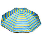 Парасоля пляжна від сонця STENSON 2.4 м складана парасолька для пляжу, фото 7