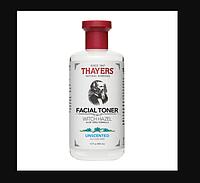 Thayers Тоник для лица без спирта с гамамелисом и алое вера Witch Hazel Aloe Vera Formula Без запаха США, фото 1