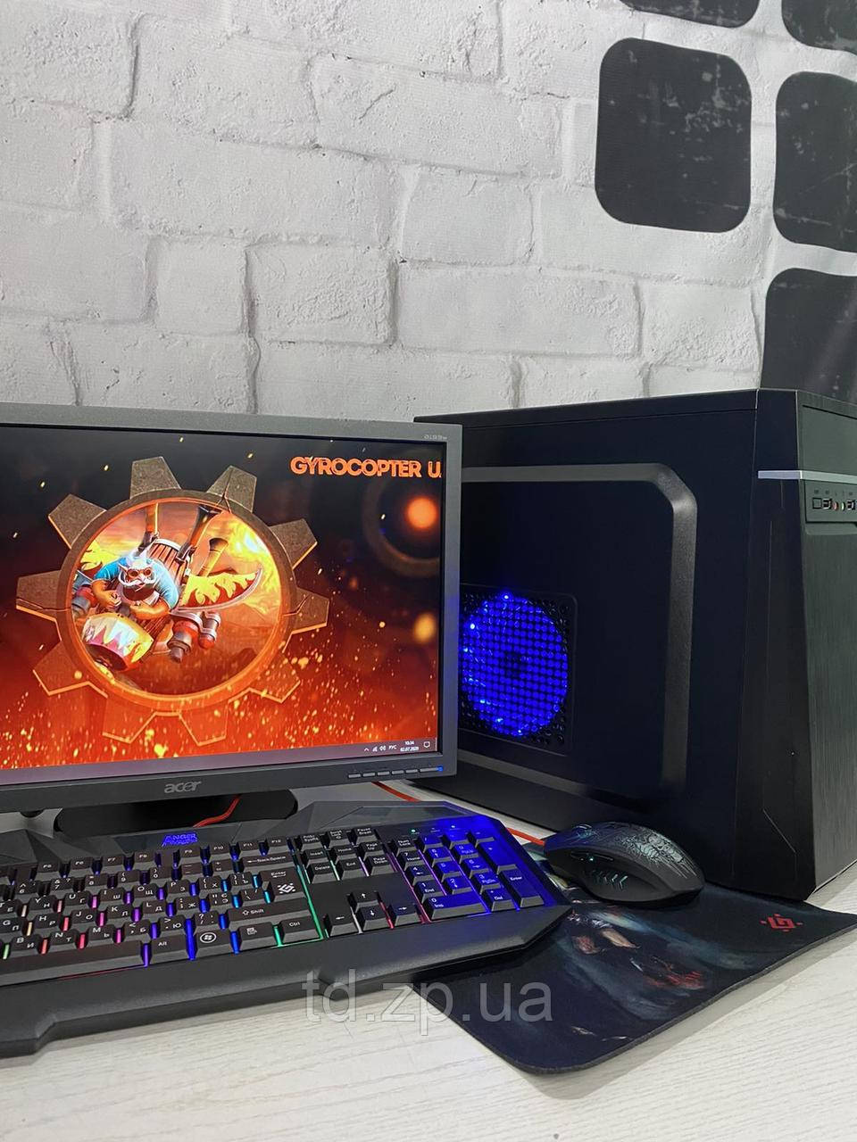 Игровой компьютер Intel Core i3-3220 4x3.4Ghz + NVIDIA GeForce GTX 750ti + 8Gb DDR3 + 320Gb HDD