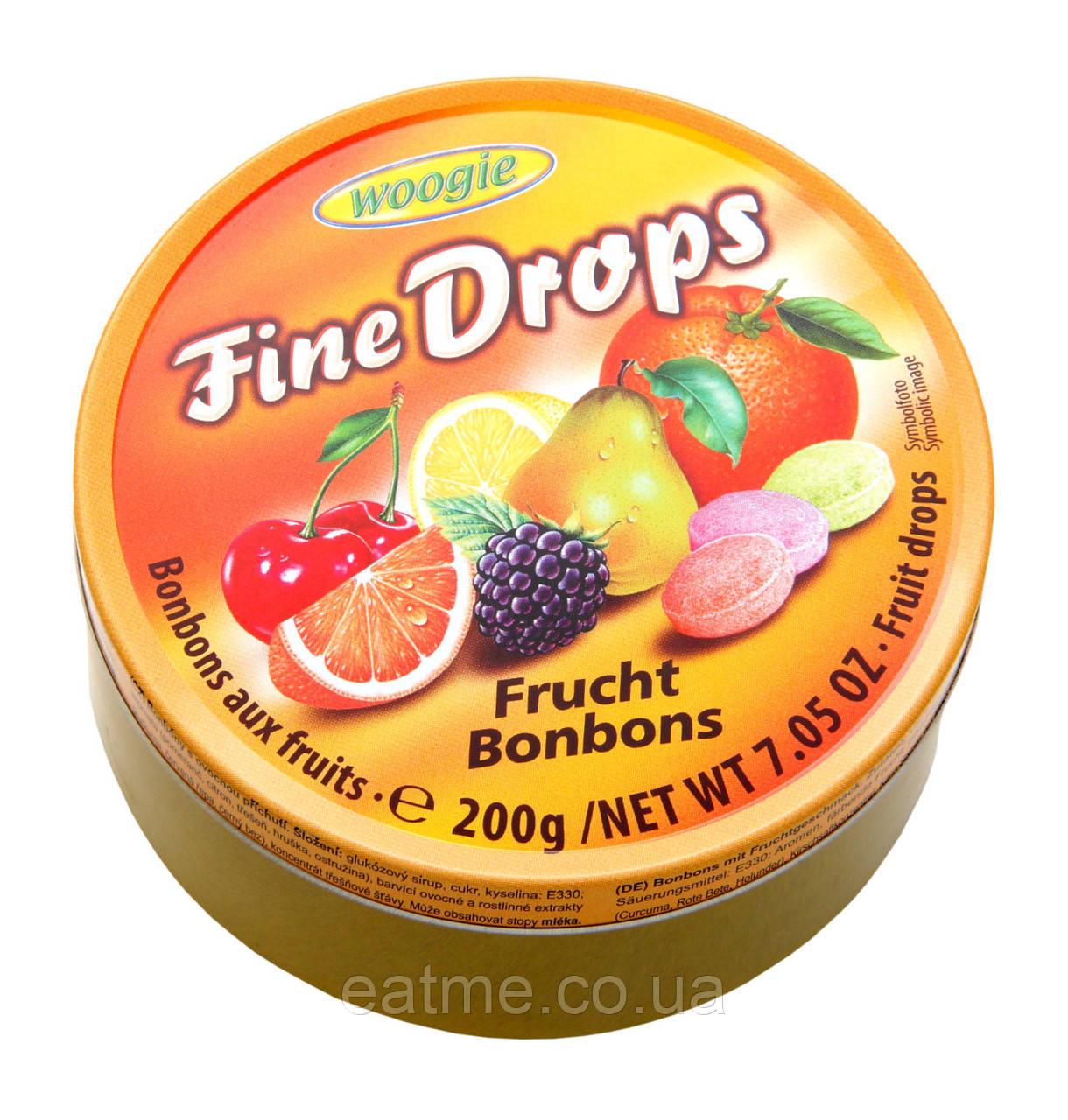 Woogie Fine Drops Леденцы со вкусом фруктов