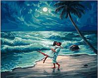 Картина по номерам На берегу океана, 40x50 см, Brushme (Брашми) (GX23713)