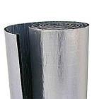 Каучук фольгированный RC ALU с клеем 8 мм рулон 12 м. кв., фото 2