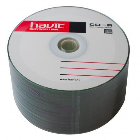 Диски CD-R 50 шт. Havit, 700Mb, 52x