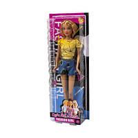 """Кукла """"Defa Lucy"""", в желтой футболке 8400"""