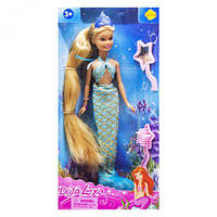 Кукла Defa Lucy Русалочка голубой 8236