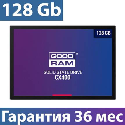 """SSD диск 128 Gb, Goodram CX400, SATA 3, 2.5"""", 3D TLC, 550/450 MB/s (SSDPR-CX400-128), ссд для ноутбука, фото 2"""
