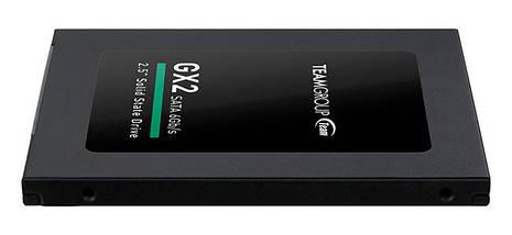 "SSD диск 256 Gb, Team GX2, SATA 3, 2.5"", TLC, 500/400 MB/s (T253X2256G0C101), ссд для ноутбука, фото 3"