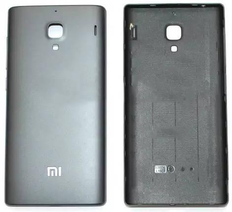 Задняя крышка Xiaomi Redmi grey , сменная панель сяоми ксиоми редми, фото 2