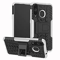 Чехол Armor Case для Huawei P30 Lite / Nova 4e White