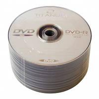 Диски DVD-R 50 шт. Titanum, 4.7Gb, 16x, Bulk Box