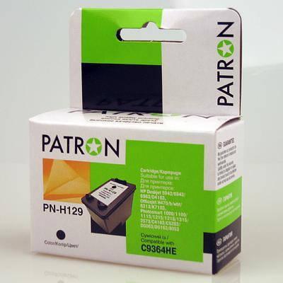 Картридж HP №129 (C9364HE), Black, DJ 5943/PSC 2573, 13 ml, Patron (PN-H129), фото 2