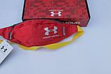 Поясная сумка Under Armour (красная) сумка на пояс, фото 3