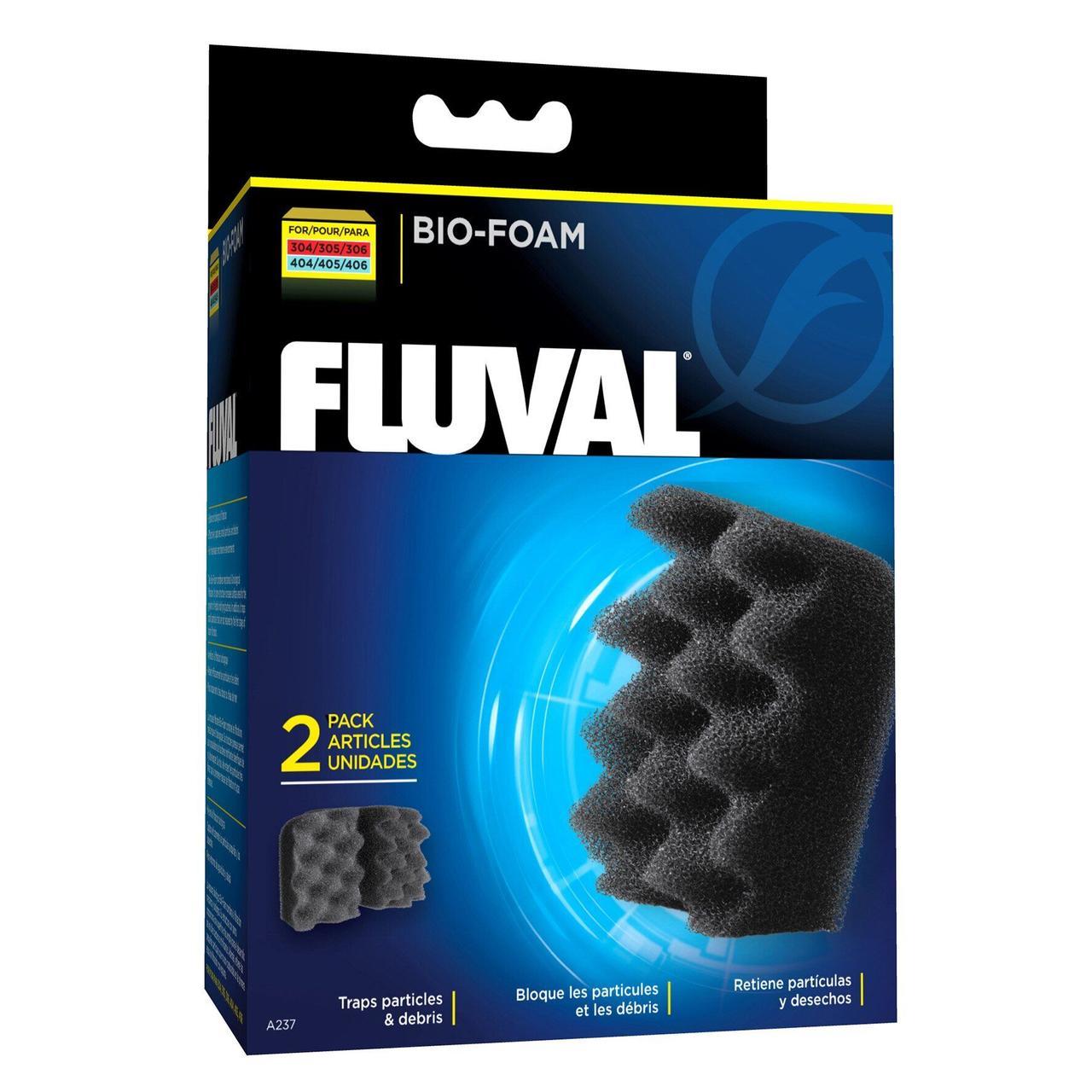 Губка Fluval «Bio-Foam» 2 шт. (для внешнего фильтра Fluval 304 / 305 / 306 / 404 / 405 / 406)