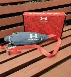 Поясная сумка Under Armour (серая) сумка на пояс, фото 8