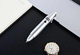 Ручка мобильный телефон портативный с камерой 0.08 MP и Bluetooth AK 007 (Серый), фото 6