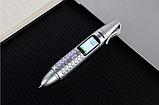 Ручка мобильный телефон портативный с камерой 0.08 MP и Bluetooth AK 007 (Серый), фото 7