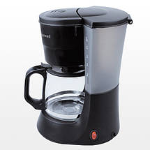 Кофеварка Maxwell MW-1650 Black, капельная, кавоварка максвел, фото 2