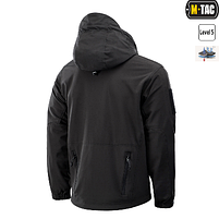 M-Tac куртка Soft Shell с подстежкой Black // РАЗМЕРЫ S / L / XL / XXL, фото 3