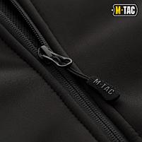 M-Tac куртка Soft Shell с подстежкой Black // РАЗМЕРЫ S / L / XL / XXL, фото 4