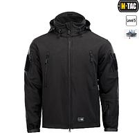 M-Tac куртка Soft Shell с подстежкой Black // РАЗМЕРЫ S / L / XL / XXL, фото 2