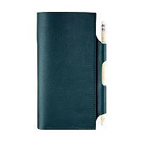Кожаный женский Тревел-кейс Blanknote 3.0 зеленый, фото 1