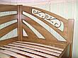 """Односпальне ліжко дерев'яна """"Веселка"""" (колір на вибір), фото 3"""