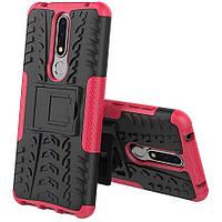 Чехол Armor Case для Nokia 3.1 Plus / X3 Rose