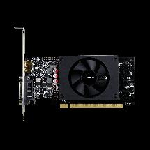 Відеокарта GeForce GT710, Gigabyte, 2 Гб DDR5, 64-bit, низькопрофільна (GV-N710D5-2GL), фото 3