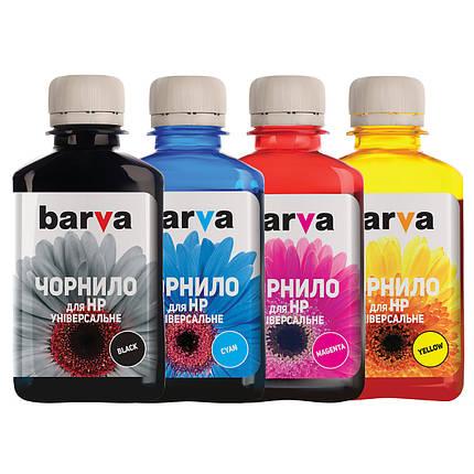 Комплект чернил Barva HP Universal №3, 4 x 180 г (I-BAR-HU3-180-MP), краска для принтера нр, фото 2