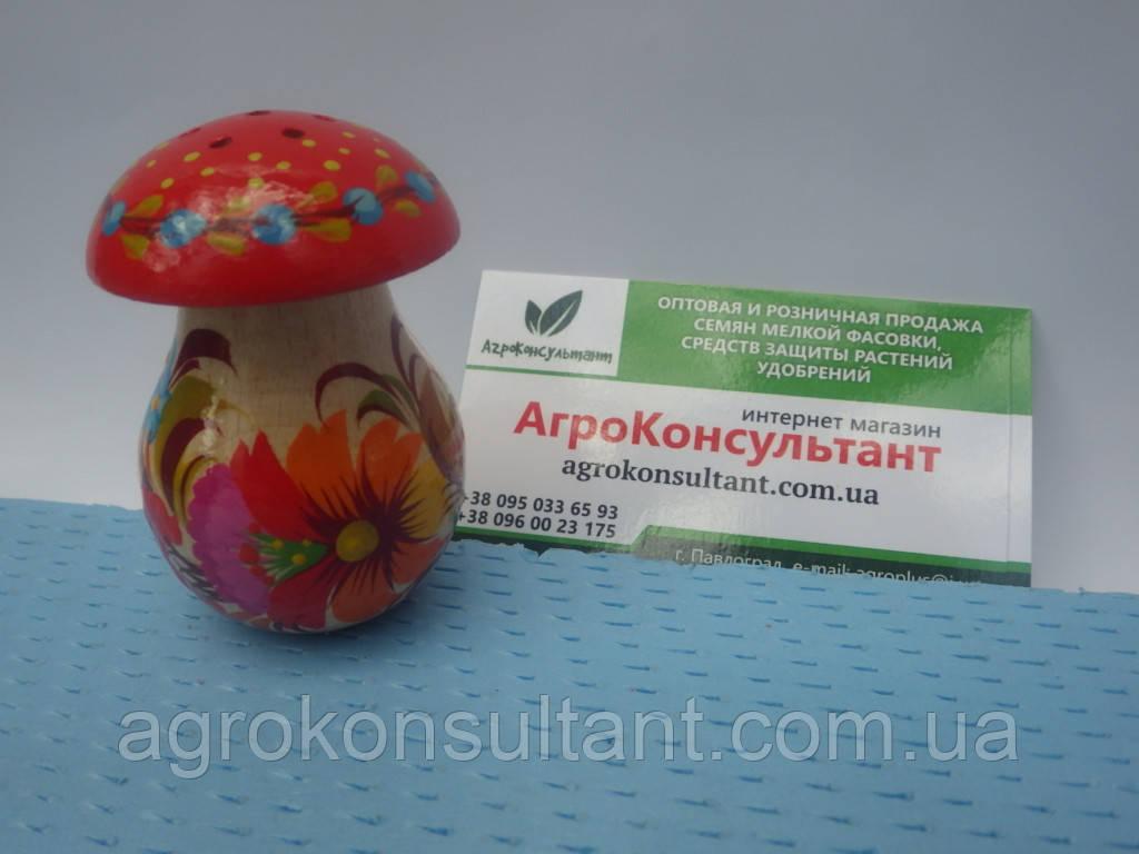 Солонка гриб (маленька) - Петриківський розпис\ Solyanka mushroom (small) - Petrikov painting