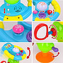 Музична іграшка - автотренажер на присоску, Веселий шофер , Limo Toy (916), фото 3