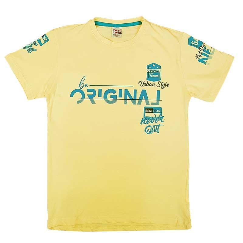"""Футболка для мальчика """"Be original"""" 140-176 (10-15 лет) арт. 2372"""
